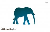 Elephant Silhouette Image