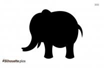 Elephant Outline Silhouette