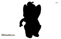 Asiatic Black Bear Image Silhouette