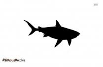 Hogfish Sea Animals Silhouette