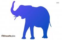 Aladdin Elephant Silhouette Clipart