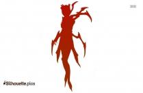 Elise Spider Queen Silhouette Art