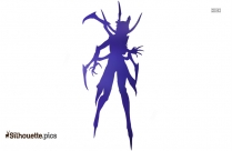 Elise The Spider Queen Silhouette