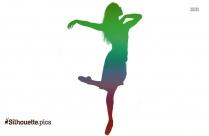 Ballerina Clipart Cute Dancer Silhouette