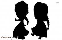 Disney Megara Silhouette Image