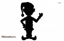 Elves Silhouette Printable