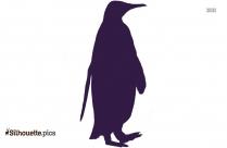 Emperor Penguin Clip Art Silhouette Image