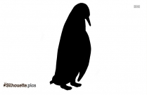 Free Download Image Of Adelie Penguin Silhouette