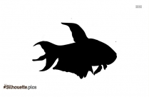 Clipart Of Cartoon Horseshoe Crab Silhouette