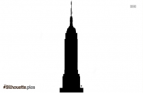 Empire State Building Silhouette Picture
