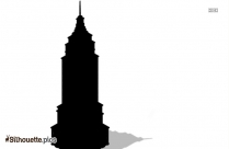 Black And White House Design Silhouette