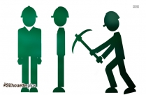Employee Activity Silhouette Vector And Graphics