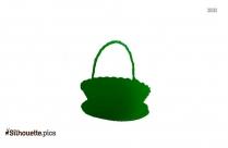 Empty Basket Silhouette