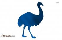 Blue Jay Bird Silhouette Free Vector Art