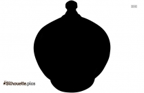 Terracotta Clay Pots Silhouette Vector And Graphics