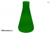 Erlenmeyer Flask Silhouette Art For Free