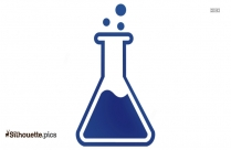 Erlenmeyer Flask Silhouette Clipart