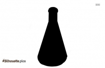Erlenmeyer Flask Silhouette Icon
