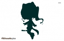 Ermine Art Silhouette Vector And Graphics