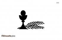 Eucharist Chalice Silhouette Clip Art