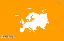 Europe Map Silhouette
