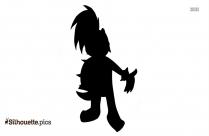 Evil Koopa Clipart || Larry Koopa Silhouette