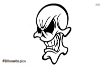 Skull Tattoo Designs Silhouette