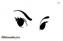 Eyebrow Shape Silhouette
