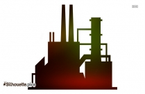 Factory Vector Png Silhouette