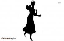 Princess Fa Mulan Ballerina Silhouette