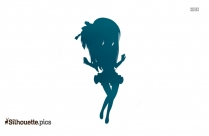 Fairy Drawings Silhouette Image And Vector