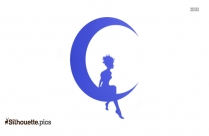 Cute Fairy Drawings Silhouette Art
