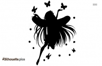 Cartoon Fairy Silhouette Clip Art