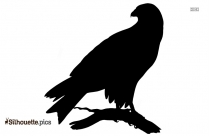 Singing Bird Silhouette Image