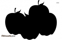 Cartoon Cherry Silhouette Picture