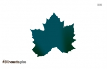 Leaf Template Silhouette Clipart