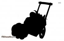 Cartoon Pumpkin Silhouette Image And Vector