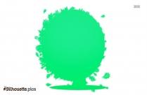 Fall Tree Silhouette Free Vector Art