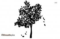 Cartoon Plant Silhouette Icon