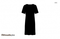 Long Gown Silhouette Illustration