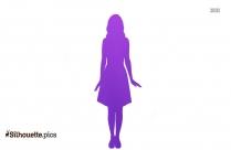 Fashion Girl Silhouette Image