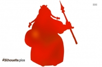 Fat Lady Cartoon Clipart Silhouette