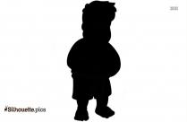 Fat Person Symbol Silhouette