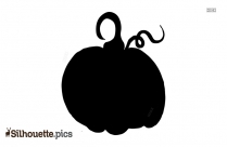 Pumpkin Vector Silhouette Image