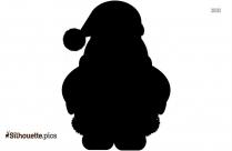 Christmas Manger Silhouette Image