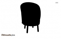 Leather Club Chair Silhouette