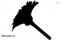 Feather Duster Silhouette