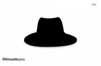 Fedora Hat Silhouette Art