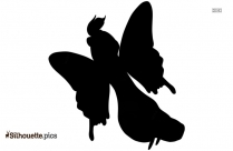 Monarch Butterfly Silhouette Illustration