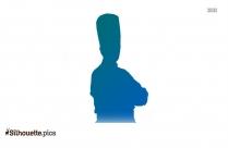 Female Chef Symbol Silhouette